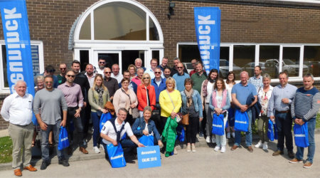 Belgian fabricators visits deceuninck