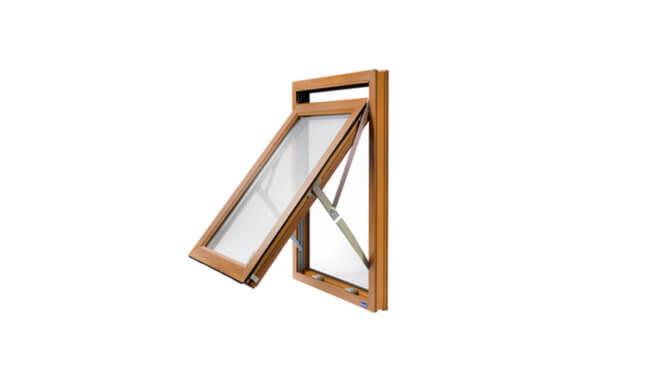 FRW window in oaken colour